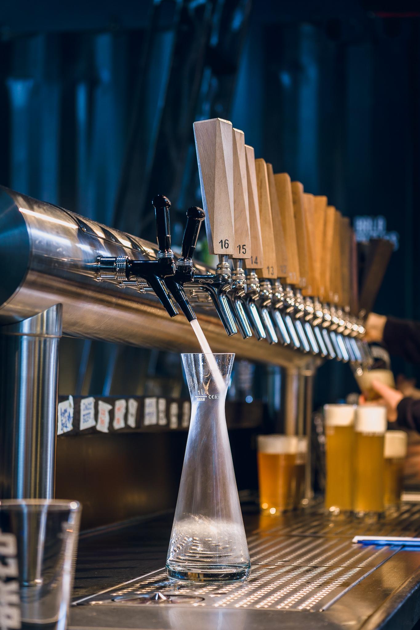 BRLO Brwhouse Schankanlage für 16 Biere und zwei verscheidene Wässer