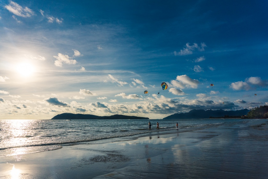 Langkawi Beach Parasailing