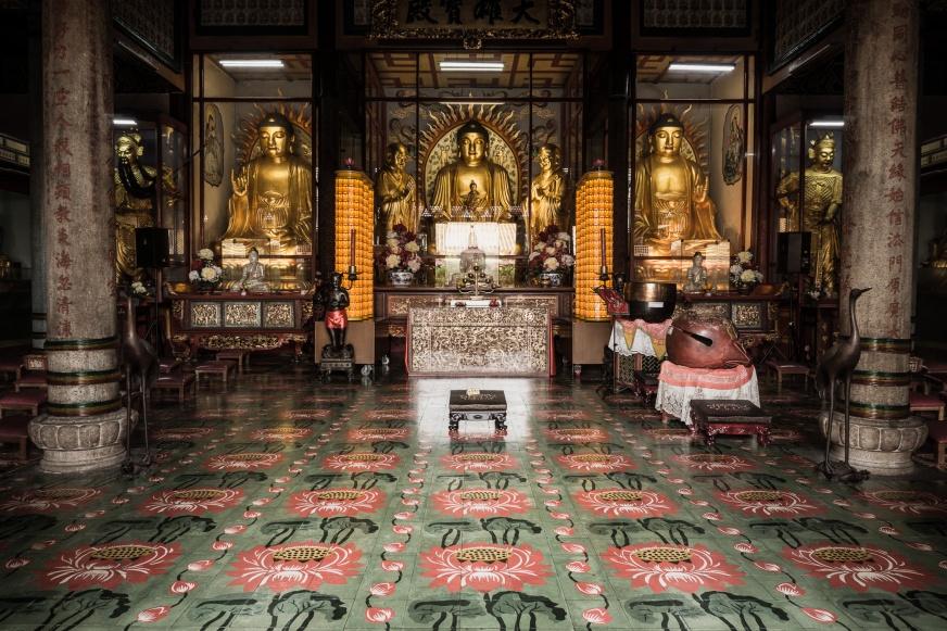 Penang Temple Inside