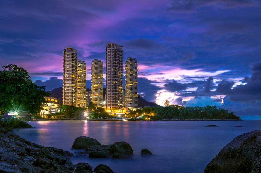 Penang Sunset City